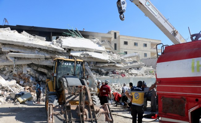 İdlib'de patlama: 32 ölü, 45 yaralı
