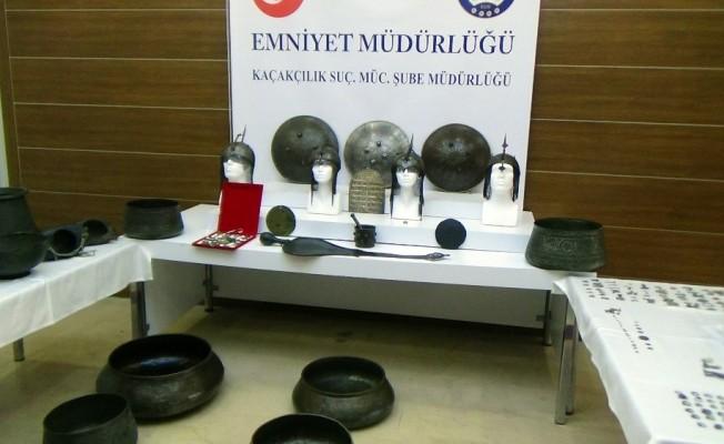 İstanbul'da tarihi eser kaçakçılığı: 237 parça eser ele geçirildi