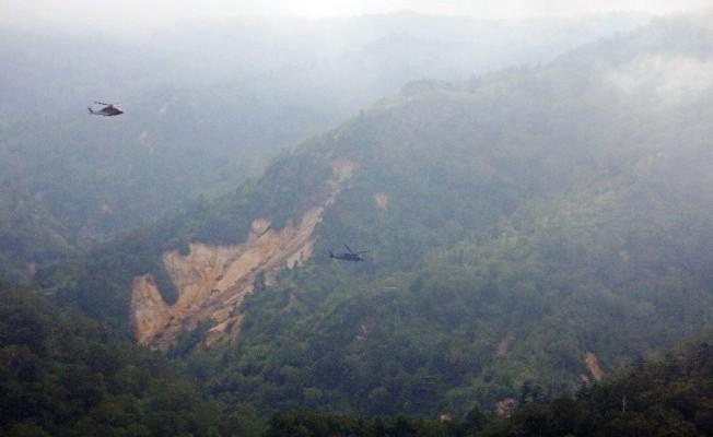 Japonya'da düşen helikopterdeki 9 mürettebat hayatını kaybetti