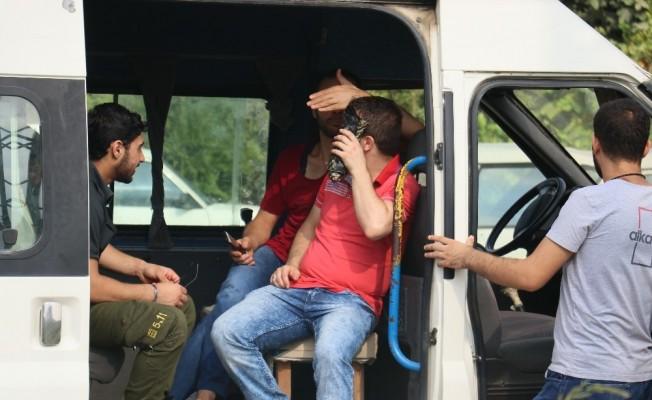 Kaçak göçmen sanıldılar Suriyeli işçi çıktılar