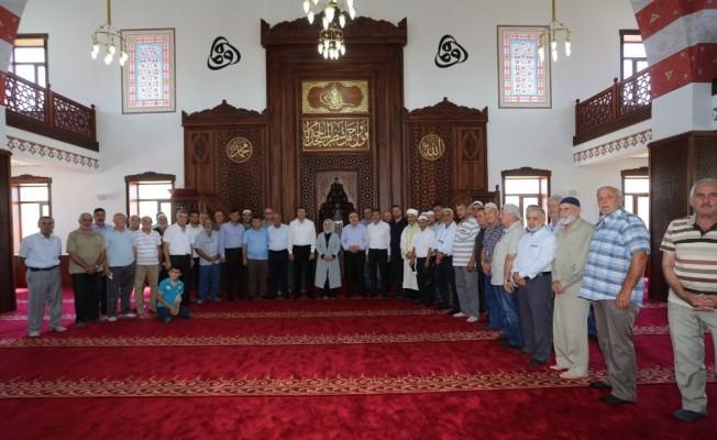 Kadriye Binek Camii dualarla açıldı