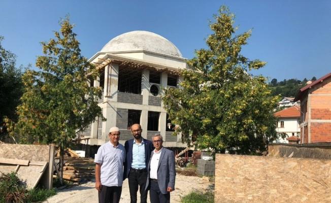 Kardeş  Şehir  Olova'da  Ahi Evran-ı Veli Kırşehir Cami yapımı çalışmaları