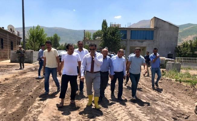 Kaymakam Alibeyoğlu belediye çalışmalarını yerinde inceledi
