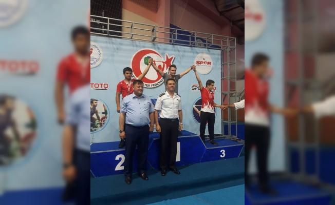 Kayserili Muhammed Akkaya, Halterde Türkiye Şampiyonu Oldu