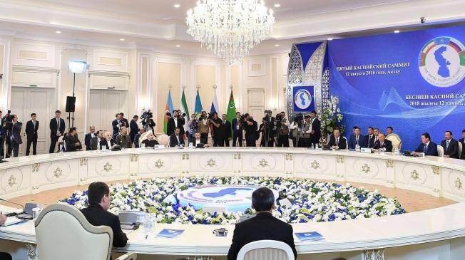 Kazakistan, Azerbaycan, Rusya, İran ve Türkmenistan, Hazar Denizi'nin hukuki statüsünde anlaştı.