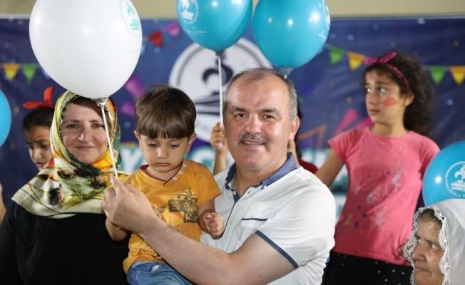 Korucuk'lu ve Aktepe'li çocuklar eğlenceye doydu