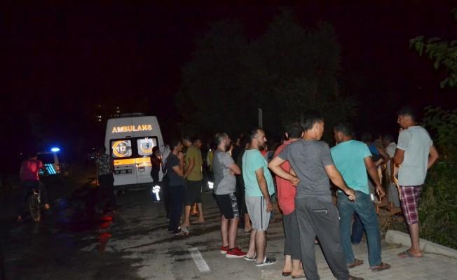 Kozan'da ikamet yangını