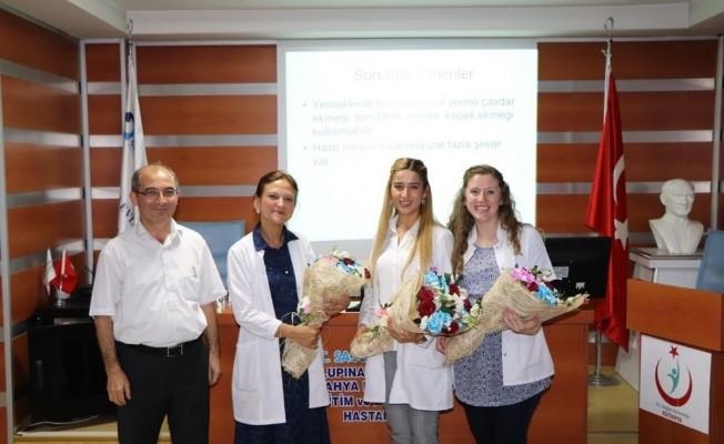 Kütahya Evliya Çelebi Eğitim ve Araştırma Hastanesinde 'Diyabet Okulu'