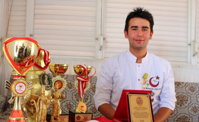 Liseli aşçının dünya birinciliği hedefi parasızlığa takıldı