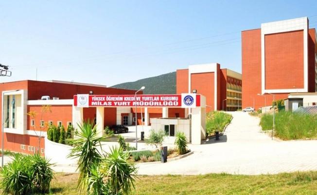 Milas'ta Kredi ve Yurtlar Kurumu binası hizmete giriyor