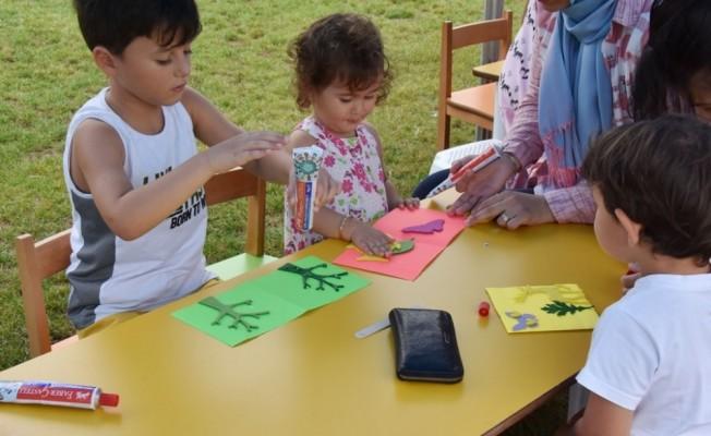 Minikler Çocuk Kulübü bayram hazırlığında