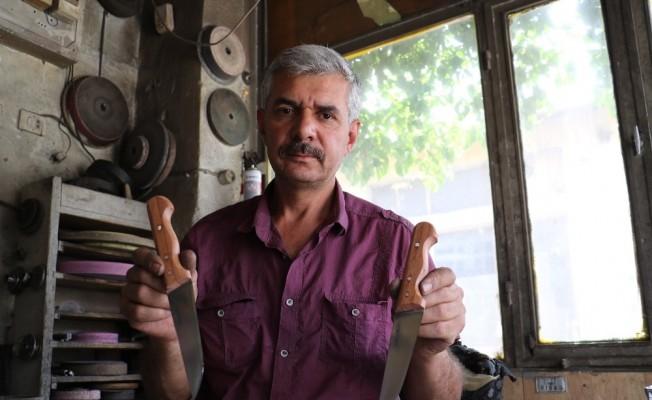 (Özel) El yapımı Sivas bıçağına bayram öncesi yoğun talep