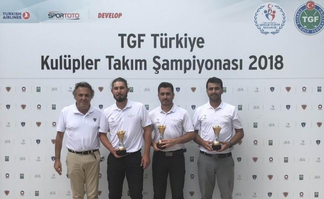 TGF Türkiye Kulüpler Takım Şampiyonası'nda zafer National Golf Kulübü'nün