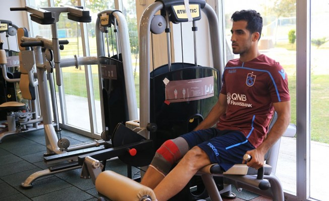 Trabzonspor'da Vahid Amiri'nin sakatlığı