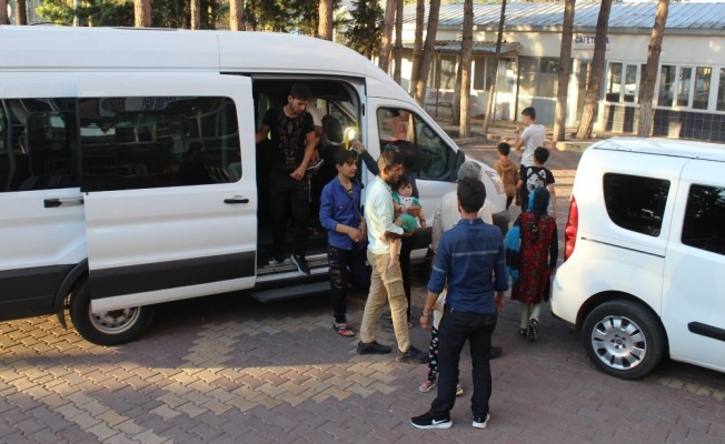 Adıyaman'da Afgan göçmenler yakalandı