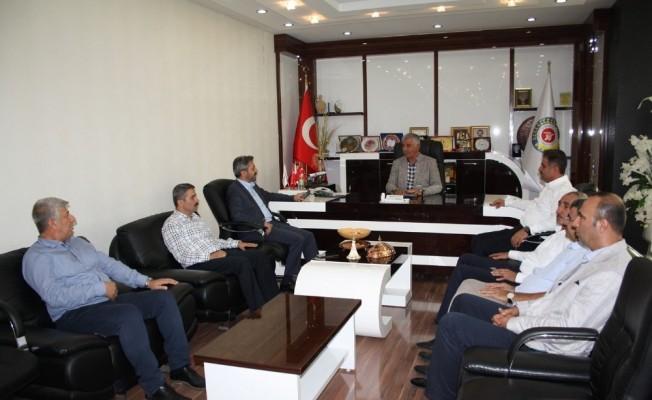 AK Parti Milletvekilleri ATSO yönetimiyle bir araya geldi