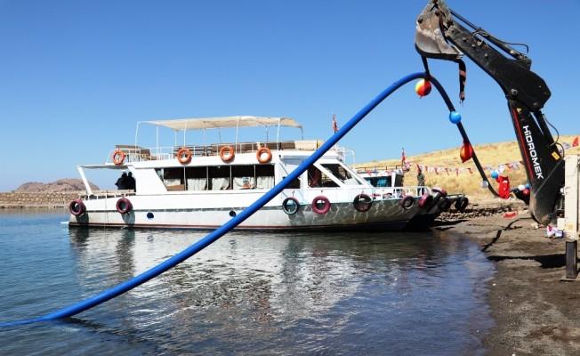 Akdamar Adası Kasım ayında suya kavuşacak
