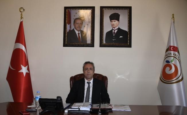 Antalya Valiliğinde okul güvenliği toplantısı yapıldı