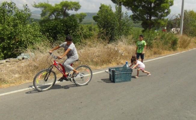 Antalya'da bir mahallede 2 aydır içme suyu sıkıntısı yaşanıyor