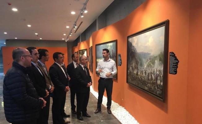 Başkan Bakıcı, Panorama 1326 Bursa Fetih Müzesi'ni ziyaret etti