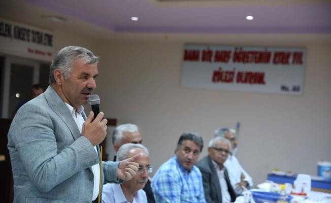Başkan Çelik, Kayseri Cem Evi'nde Muharrem Orucu iftarına katıldı