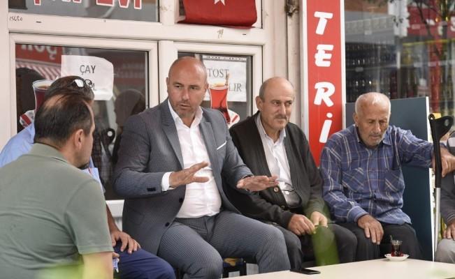 """Başkan Togar: """"Daha güzel bir Tekkeköy için çalışıyoruz"""""""