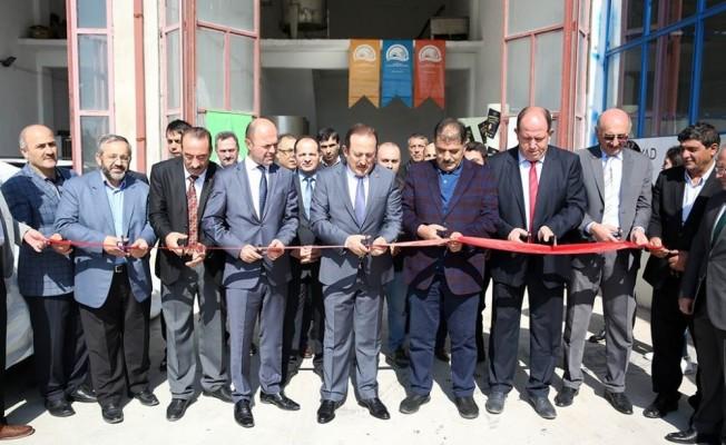 Bayburt'ta bal dolum ve paketleme tesisi hizmete açıldı