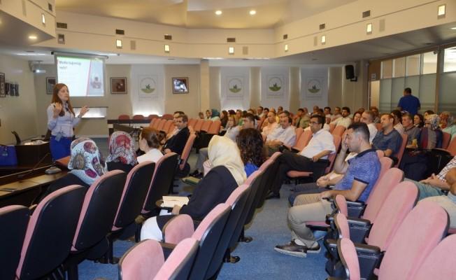 Belediye personeline bağımlılıkla mücadele eğitimi
