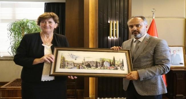 Bosna Hersek'ten Bursa'ya iş birliği adımı