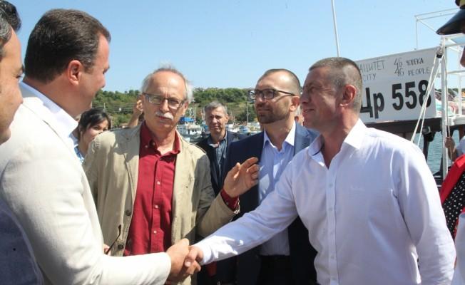 Bulgaristan heyetinden İğneada'ya ziyaret