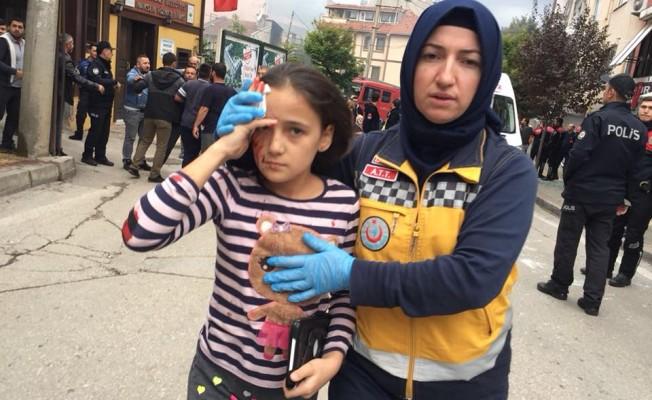 Bursa'da patlama: 7 yaralı