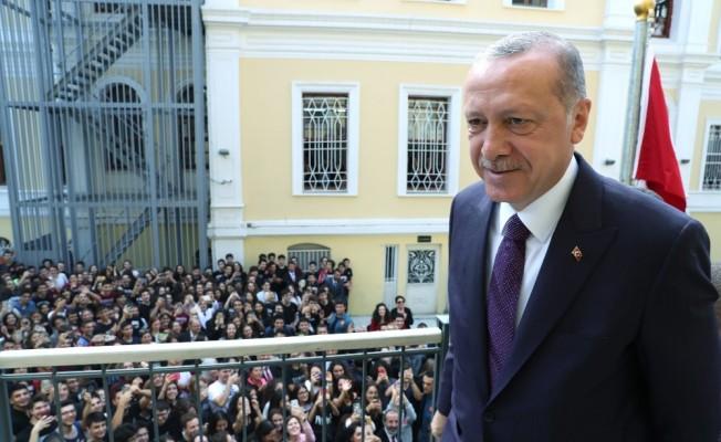 Cumhurbaşkanı Erdoğan: Türkiye eğitim-öğretim alanında sıçrama yapacak konuma ulaşmıştır