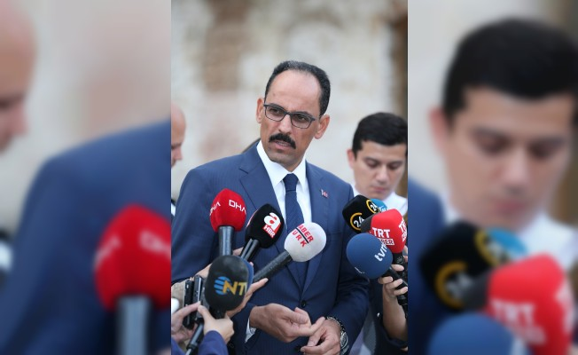 Cumhurbaşkanlığı Sözcüsü İbrahim Kalın: