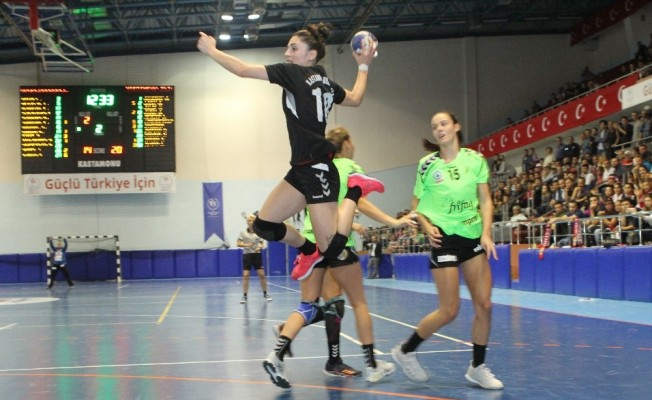 EHF Kupası: Kastamonu Belediyespor: 31 - Brühl Handball: 19
