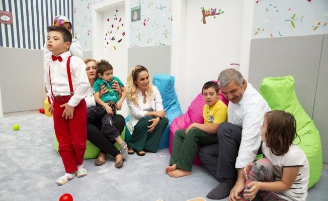 Gönül belediyeciliğini slogan olmaktan çıkarıp eyleme dönüştüren proje 'Engelsiz Çocuk Evi'