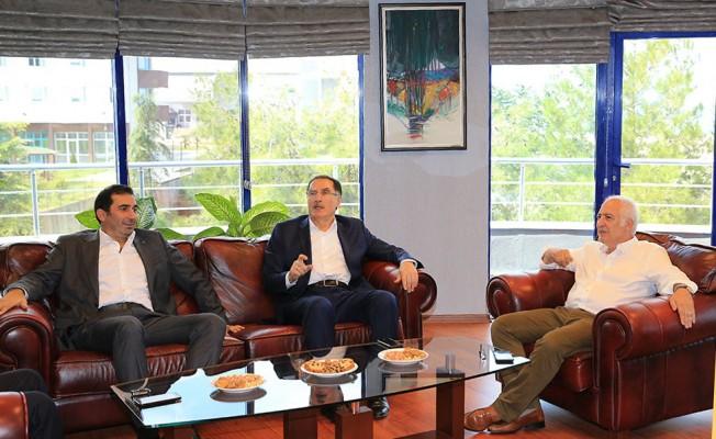 Kamu Başdenetçisi Malkoç'tan, Trabzonspor'a ziyaret