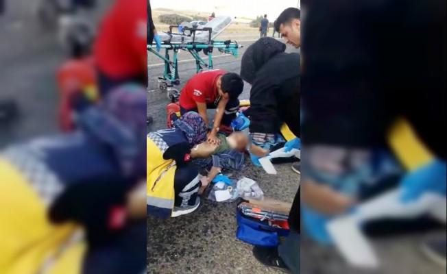 Kırşehir'de otomobil eşeğe çarptı: 1 ölü