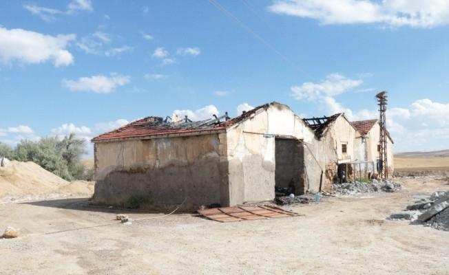 Kırşehir'de tuz ocağındaki patlama
