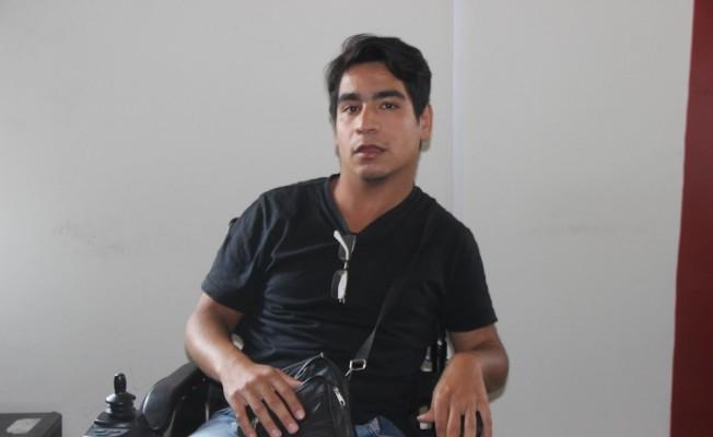(Özel Haber) Engelli genç yaşadığı sıkıntıları çektiği kısa filmle anlattı