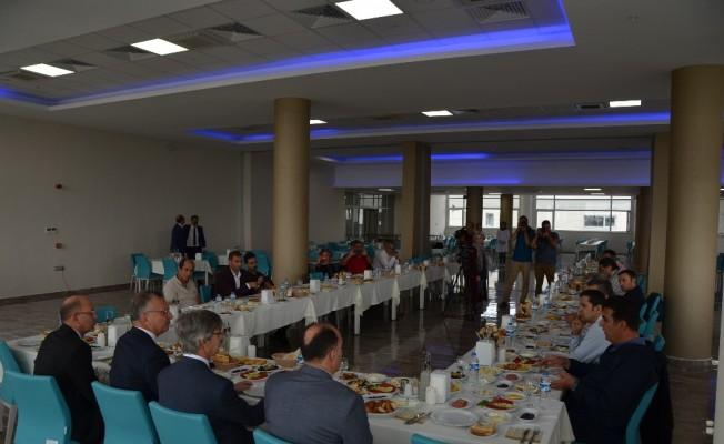 Rektör Akın Levent, Erzincan basınıyla buluştu