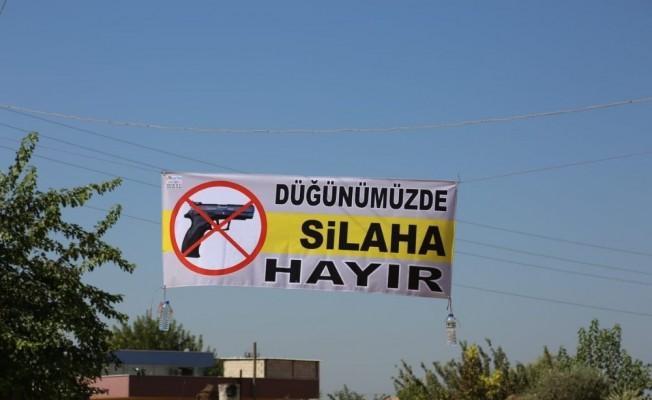 Şanlıurfa'da 'düğünde silaha hayır' kampanyası
