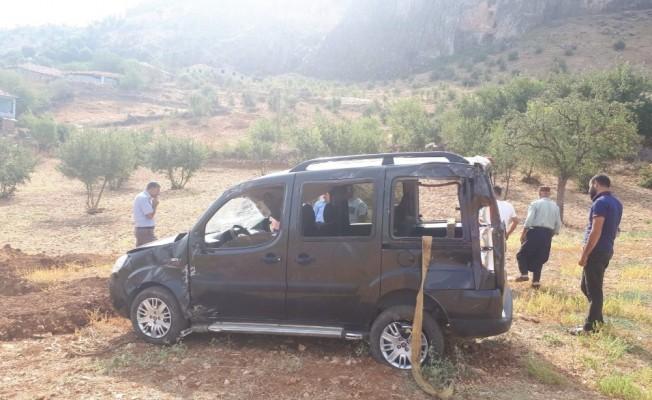 Sincik'te güvenlik korucuları kaza yaptı: 4 Yaralı