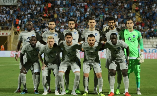 Spor Toto 1. Lig: Adana Demirspor: 1 - Hatayspor: 0 (İlk yarı sonucu)