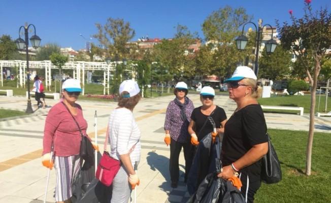 Süleymanpaşa'da vatandaşlardan çevre temizliği