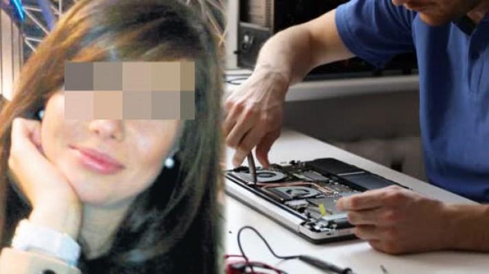 Tamirciye bilgisayarını verdi... Gelen telefon şoke etti