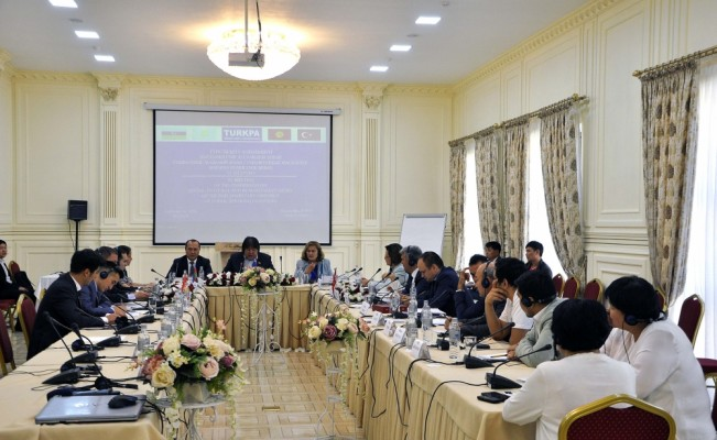 TÜRKPA Sosyal, Kültürel ve İnsani İşler Komisyonu Kırgızistan'da toplandı