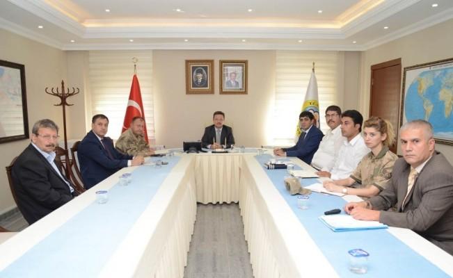 Üniversite Güvenlik Toplantısı gerçekleştirildi