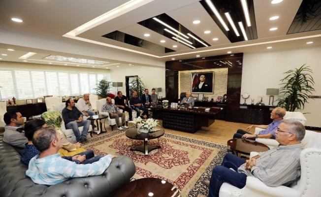 Yenimahalle esnafı Başkan Yaşar'a dert yandı