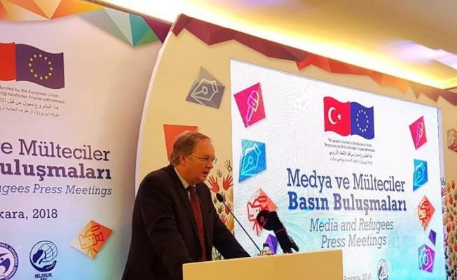 """AB Türkiye Delegasyonu Başkanı Berger: """"Türkiye'deki gazeteciler dünyaya ders verdi"""""""