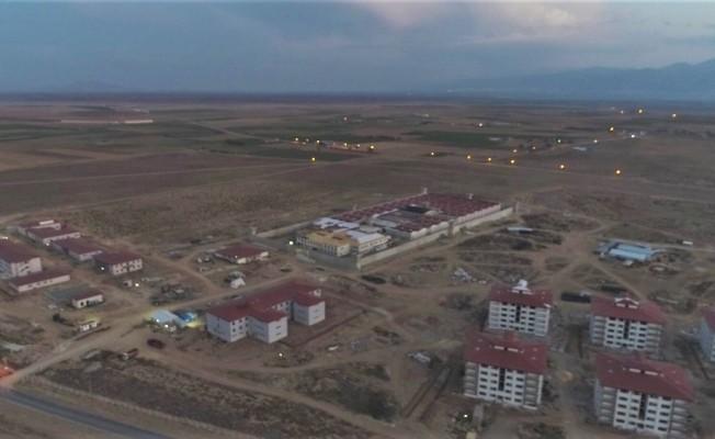 Afyonkarahisar'da inşa edilen cezaevinde sona doğru